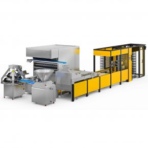 Dough Processing with Tray Loading Robot 19x21